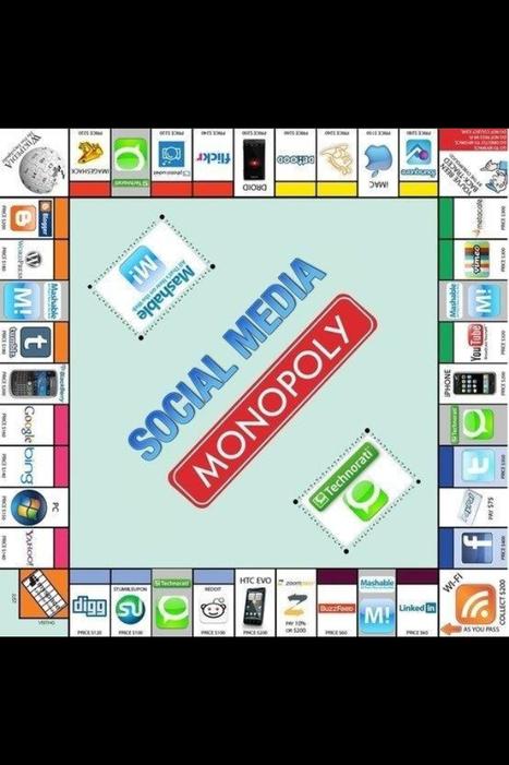 Le Monopoly version social média :) | Wiki_Universe | Scoop.it