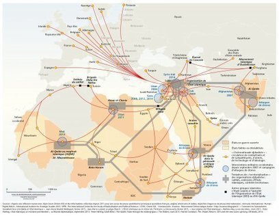 Terrorisme, insurrection ou résistance : cartographier et nommer « l'internationale djihadiste » - Visionscarto | Géopolitique & Cartographie | Scoop.it