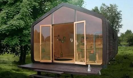La mini casa modulare di cartone che dura 100 anni | Design | Scoop.it