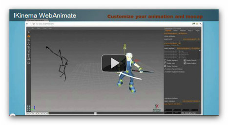 Interview: Alexandre Pechev, CEO of IKinema, talks about its free animation tool - WebAnimate | 3D World | Curation, Gamification, Augmented Reality, connect.me, Singularity, 3D Printer, Technology, Apple, Microsoft, Science, wii, ps3, xbox | Scoop.it