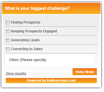 Take a Quick Survey! Click to Vote.   social selling   Scoop.it