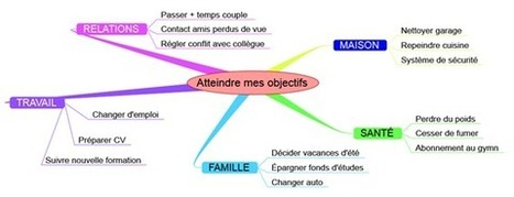 Journal intime et Mind Mapping pour atteindre vos objectifs   Le Journal Personnel   CARTOGRAPHIES   Scoop.it