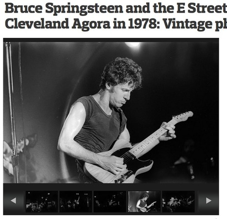 [Fotos] Springsteen en 1974 y 1978 | Política & Rock'n'Roll | Scoop.it