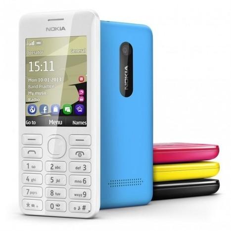 Nokia 206 - ten telefon wytrzyma... 47 dni na jednym ładowaniu - | Mobile | Scoop.it