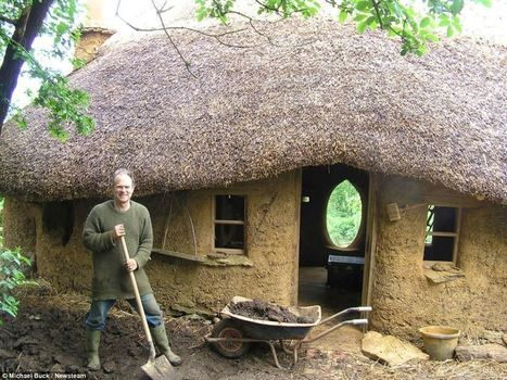 Farmer builds a house for just £150 using materials he found in skips | Puntos de referencia | Scoop.it