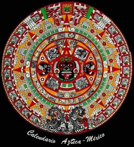 ALMANAQUES Y CALENDARIOS - CALENDARIO AZTECA | Un viaje a la América Precolombina | Scoop.it