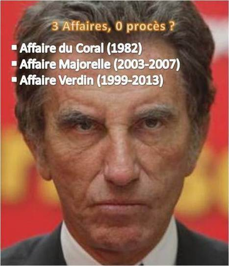 """Jack Lang, 3 affaires : 0 procès ?"" 