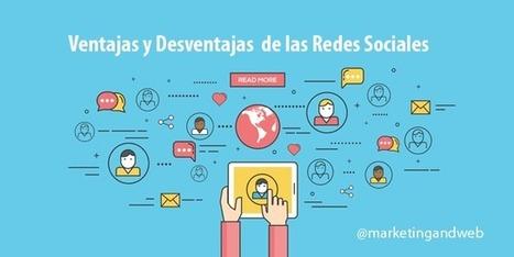 15 Ventajas y Desventajas de las Redes Sociales para Profesionales | desdeelpasillo | Scoop.it