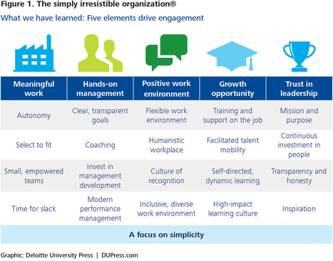 Becoming irresistible: A new model for employee engagement | Issues in HE | Scoop.it