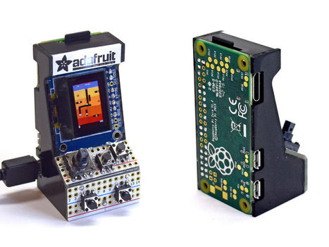 Adafruit : la borne d'arcade qui tient dans la main | FabLab - DIY - 3D printing- Maker | Scoop.it