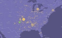 Map: Killer Tornadoes Since 1950 | Maps are Arguments | Scoop.it