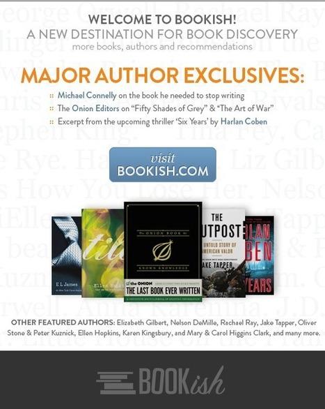 Bookish : champion des auteurs et des livres, conçu par l'édition US | Library & Information Science | Scoop.it