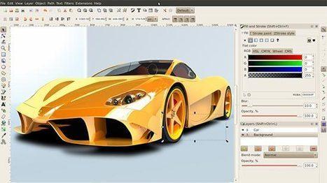 8+ outils gratuits pour de la retouche photo, du dessin ou de l'animation vectorielle et bitmap - Ressources & Outils | CreativeJuiz | Lectures web | Scoop.it