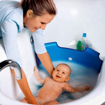 Ingénieux, le réducteur de baignoire ! | Enfant bébé maman | Scoop.it