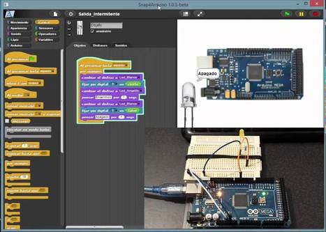 Snap4Arduino: ventajas, instalación e importación de proyectos de Scratch   El safareig computacional   Scoop.it