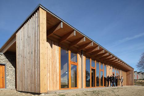 [inspiration] De la terre à la lumière : maison bois et pierre de conception bioclimatique | Le flux d'Infogreen.lu | Scoop.it