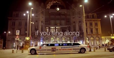 Dans ce taxi un peu particulier, vous payez en chantant Call Me Maybe | streetmarketing | Scoop.it