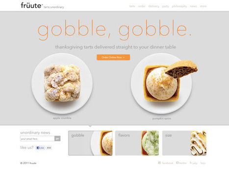 21 Examples of Circular Elements in Web Design | Inspiration | Basics and principles for a good  Web Design | Scoop.it