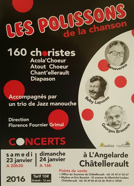 #WeekEnd #Chatellerault #Concert | Chatellerault, secouez-moi, secouez-moi! | Scoop.it