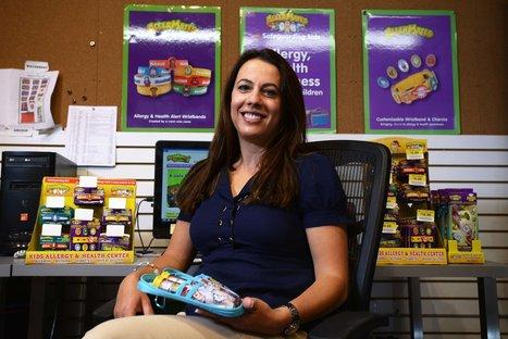Fighting kids' food allergies with fun - Berkshire Eagle | School Nursing | Scoop.it