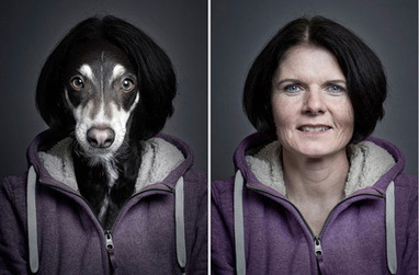 Dogs dressed as their owners | Creative Feeds | Scoop.it