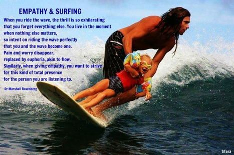 EMPATHY AND SURFING | Compassionate Communication NVC Nonviolent Communication | Scoop.it