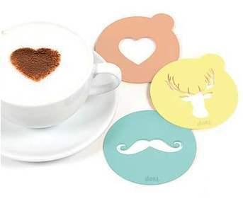 Plantillas para decorar el café con mucho estilo.   Mil ideas de Decoración   Accesorios decoración   Scoop.it