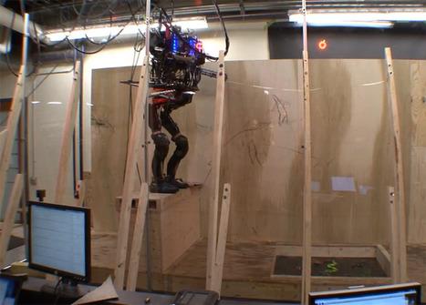 Un robot qui peut escalader, sauter et enjamber des obstacles - Be Geek | Des robots et des drones | Scoop.it