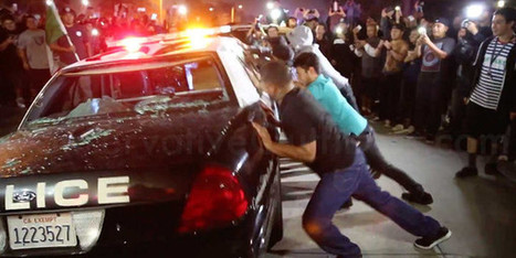 Hundreds Of Trump Protesters Surround And Attack Police Car | Criminal Justice in America | Scoop.it