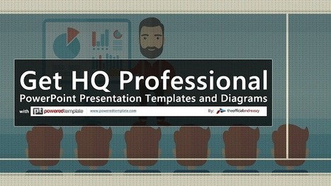 Get HQ Professional PowerPoint Presentation Templates and Diagrams with Powered Template   Science and Tech news   Scoop.it