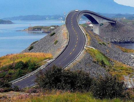 Bendy Atlantic Norway Ocean Highway   The Best Places in the World to Travel   Scoop.it
