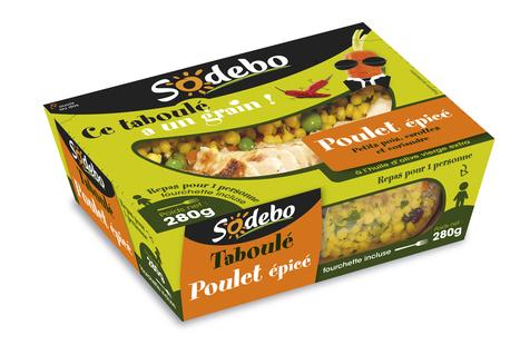Sodebo innove avec son concept de sandwich BAG et son taboulet-repas - Fournisseurs - SNACKING.FR | Sandwiches | Scoop.it