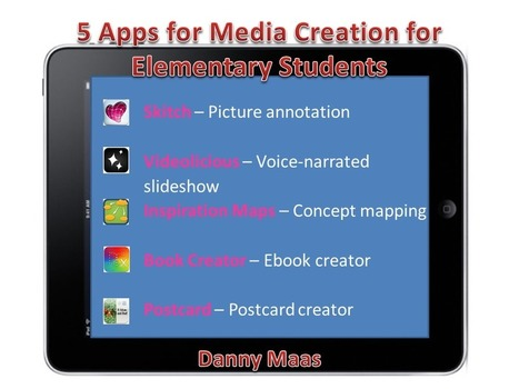 5 Apps for Learning and Media Creation for Elementary Students in the Inclusive Classroom | iPads 1-to-1 in the Elementary Classroom | Scoop.it
