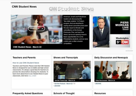 CNN Student News | Teaching and Technology | Scoop.it