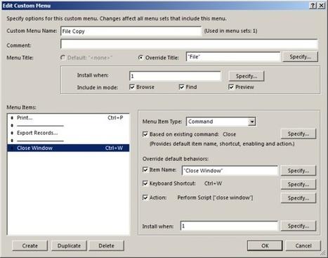 Obscure Multiple Window Issue | Filemaker Info | Scoop.it