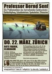 Die Problematik des herrschenden Geldsystems ... - Occupy Zürich | Occupy Zürich | Scoop.it