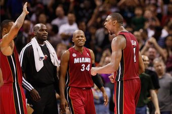 NBA scores: Short-handed Heat tip Spurs on Bosh 3 - SBNation.com | NBA News | Scoop.it