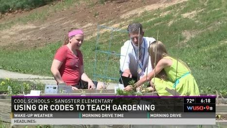 Cool Schools: Using QR codes to teach gardening | QR Code & Education | Scoop.it