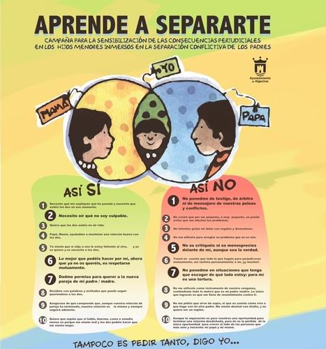Separaciones conflictivas - Aprende a separarte | Aholkularitzan | Scoop.it