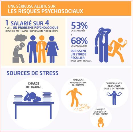 Climat, stress et qualité de vie au travail – Baromètre Cegos 2014 | Engagement et motivation au travail | Scoop.it