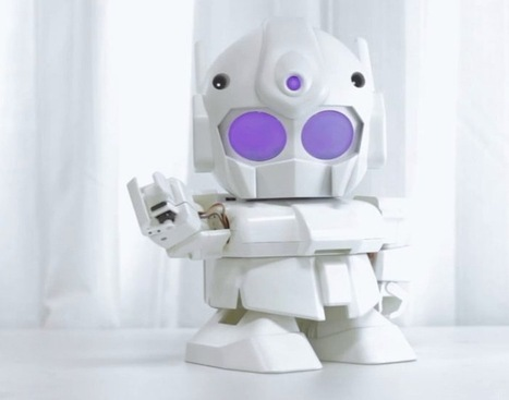 3D Print Your Very Own Raspberry Pi Powered Rapiro Robot (video) | Raspberry Pi | Scoop.it