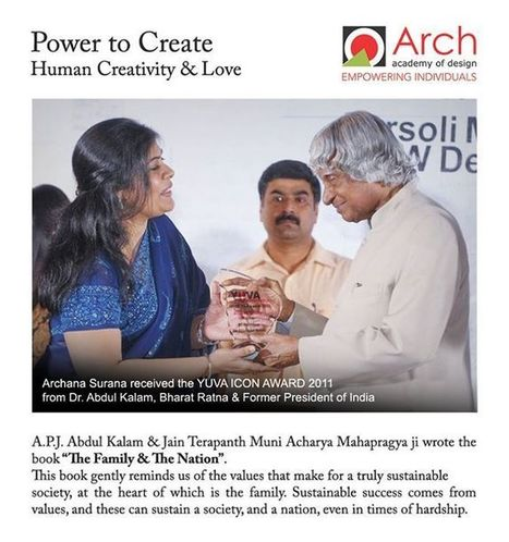 Special Moment of ARCH Academy with the Missile Man APJ Abdul Kalam, Read Here   Arch Academy of Design   www.archedu.org   Scoop.it