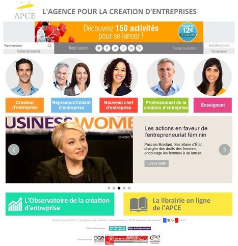 Accueil - APCE, agence pour la création d'entreprises, création d'entreprise   Passion Entreprendre   Scoop.it