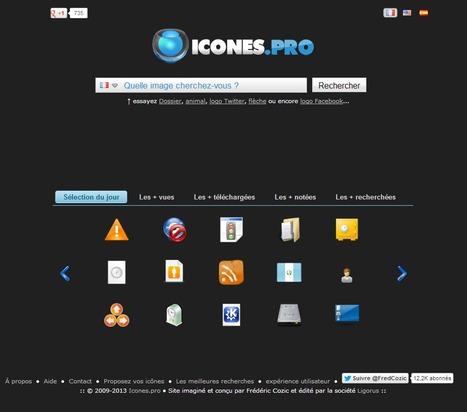 Plus de 200 000 icônes gratuites sur Icones.pro ! | Time to Learn | Scoop.it