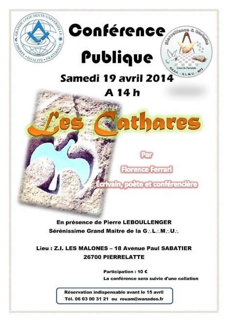 Conférence sur les Cathares à Pierrelatte   L'actualité maçonnique   Scoop.it