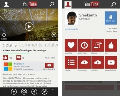 "YouTube sur Windows Phone : Microsoft et Google parviennent à un compromis | Veille Techno et Informatique ""Autrement"" 