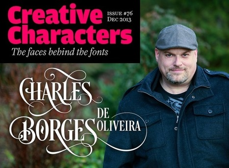 Creative Characters interview with Charles Borges de Oliveira | Inspiring Typography | Scoop.it