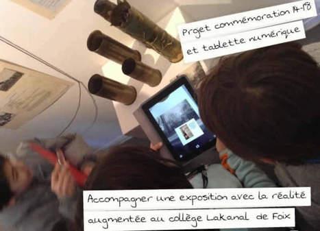 Utiliser la réalité augmentée pour enrichir une exposition sur la 1ère Guerre Mondiale - Ludovia Magazine | L'enfant et les écrans | Scoop.it