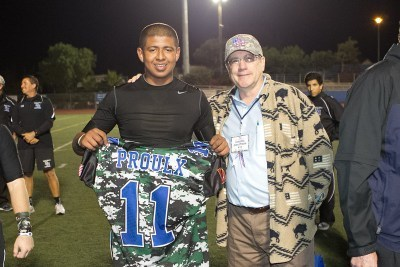 Dana Hills Football Team Honors the Valor | Orange County | Scoop.it
