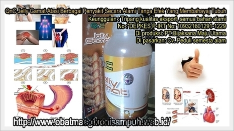 Khasiat QnC Jelly Gamat Emas | Jelly Gamat Gold G | Scoop.it